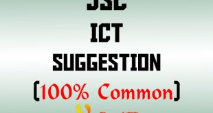 JSC ICT Suggestion 2018
