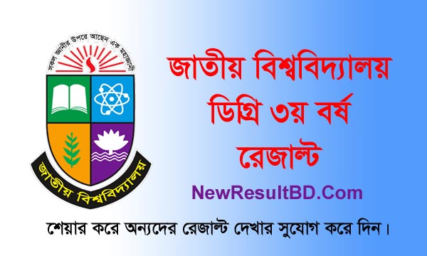 Degree 3rd Year Result 2020, NU Degree 3rd Result, National University Result, Degree Third Year Exam Result