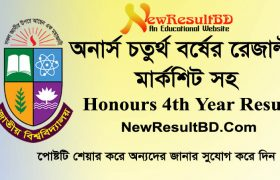 Honours 4th Year Exam Result 2019 with Marksheet, NU Hons Result, H4 Result 2019, National University Honors Exam Result from nu.ac.bd/results, Hon's Exam.