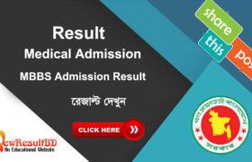 Medical Exam Result 2021