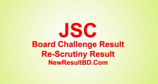 JSC Board Challenge & Re-Scrutiny Result 2020