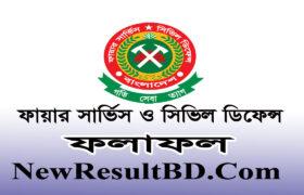 Fire Service & Civil Defence Result