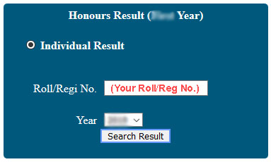Nubd.Info Honours Result Search