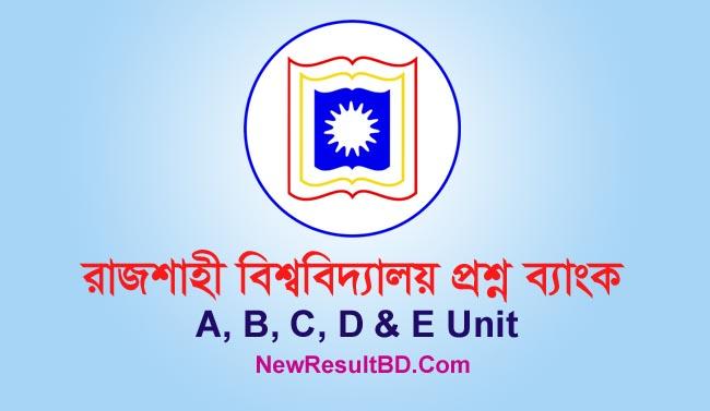 Rajshahi University (RU) Question Bank
