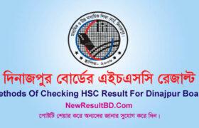 HSC Dinajpur Board Result