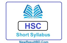 HSC New Short Syllabus 2021, এইচএসসি নতুন সিলেবাস ২০২১ (সংক্ষিপ্ত পাঠ্যসূচী)