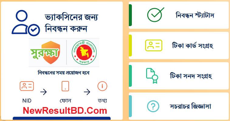 Surokkha app By surokkha.gov.bd For Corona Vaccine