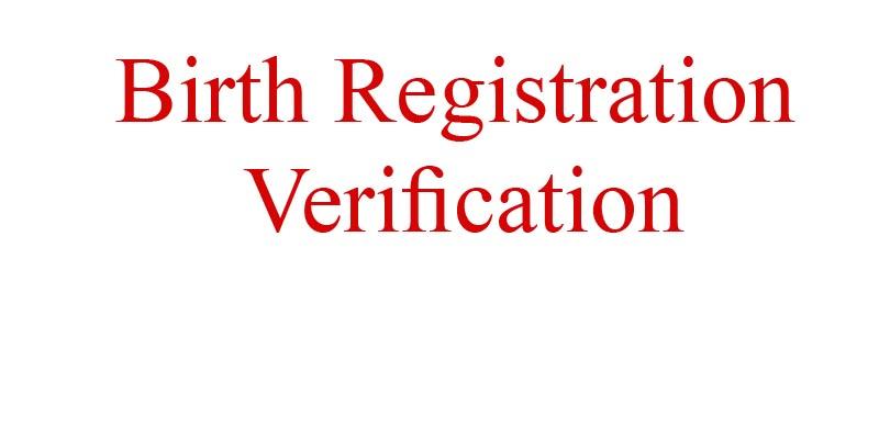 Birth Certificate Check