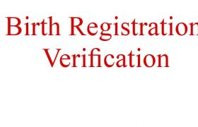 birth registration verification
