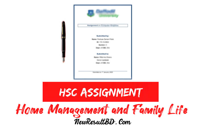 Home Management and Family Life